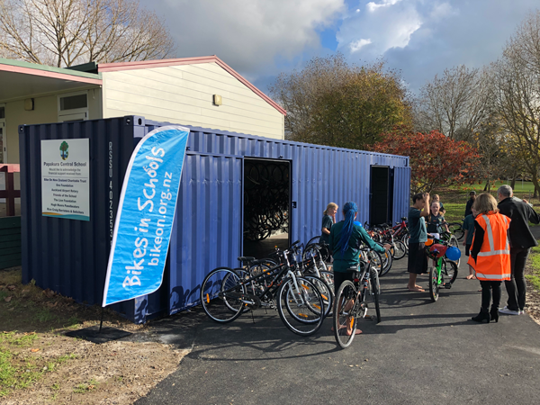 Container Shed for Bikes NZ
