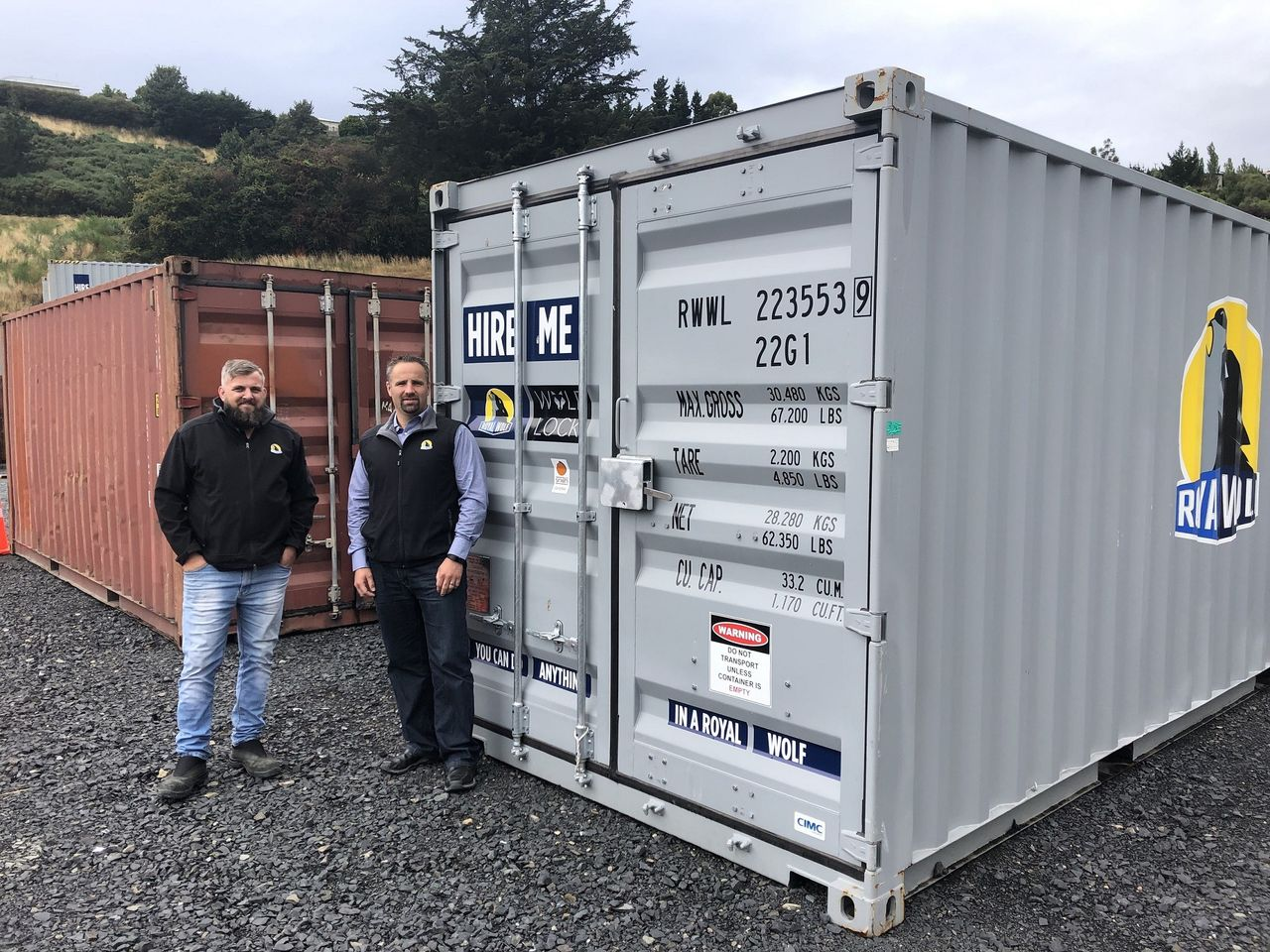 Royal Wolf Dunedin Shipping Containers