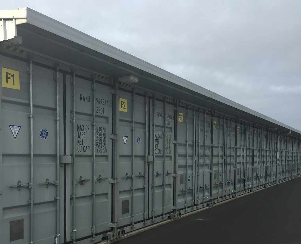 20ft Covered Storage