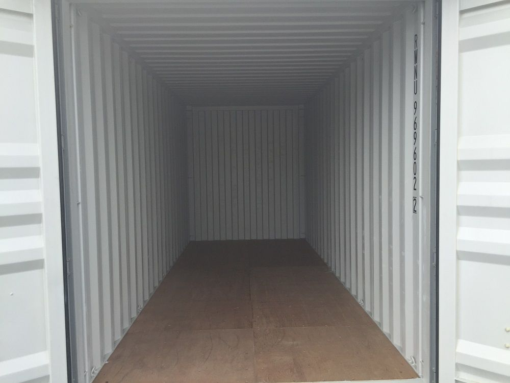 Internal View of 20ft Covered Storage
