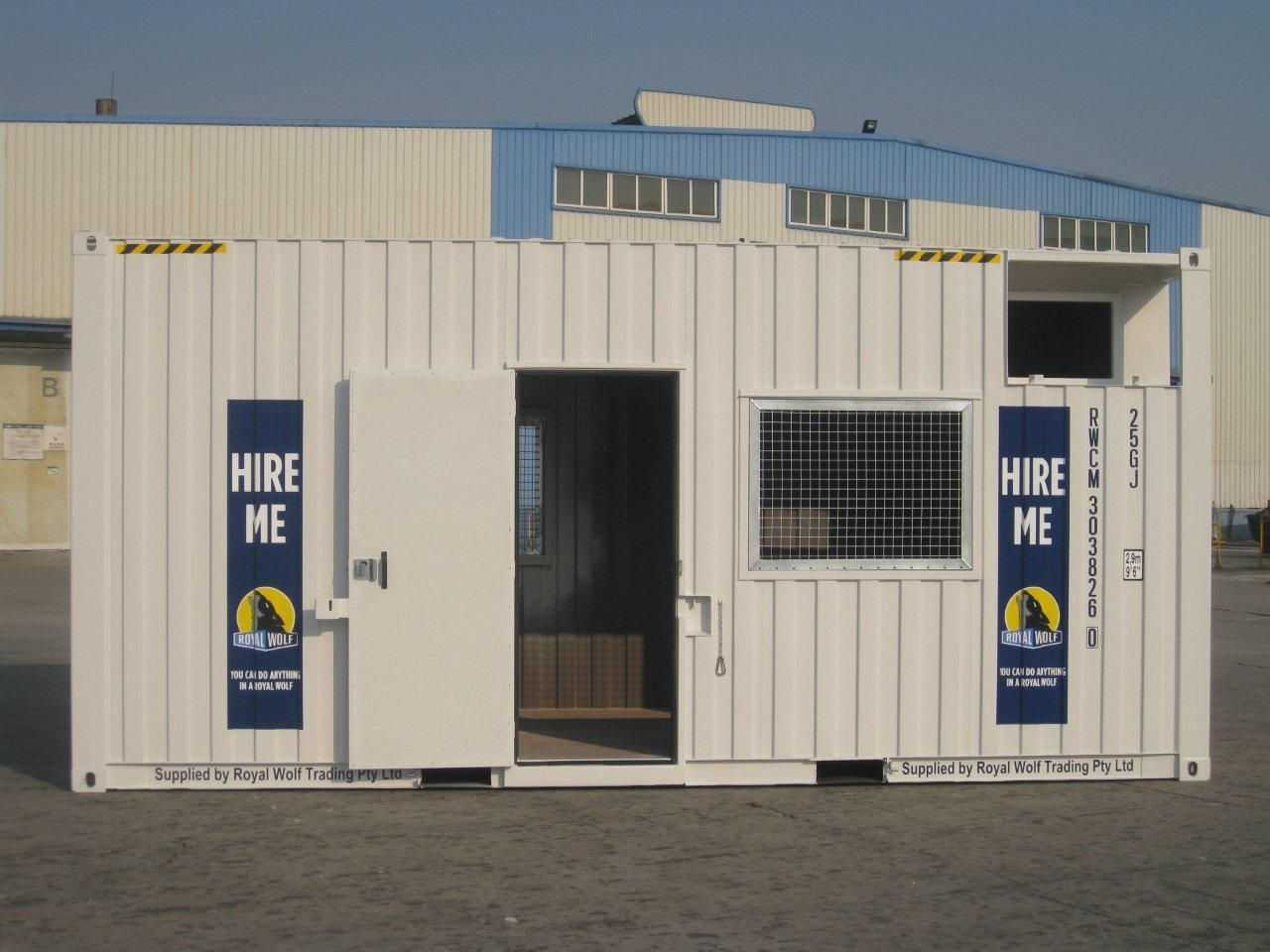 Building Amp Construction Container Solutions Offices