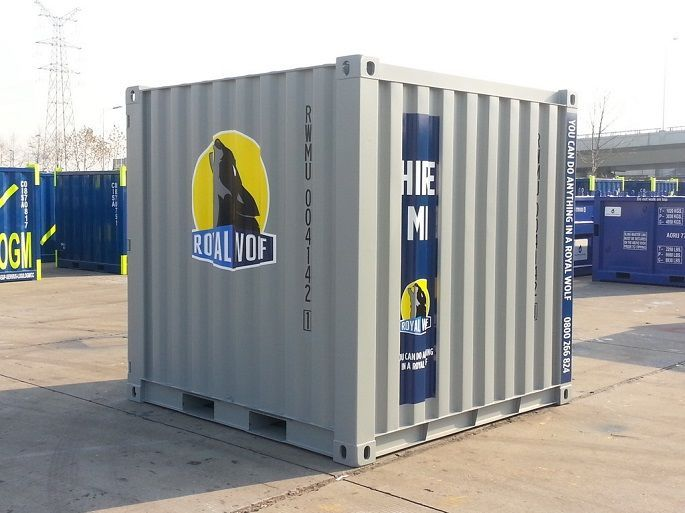 Minicube Shipping Container