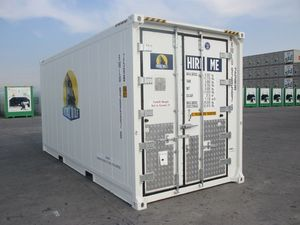 Refrigeration Containers for Events