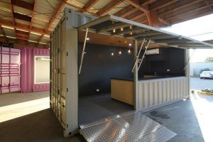 Royal Wolf Shipping Container Cafe Modification