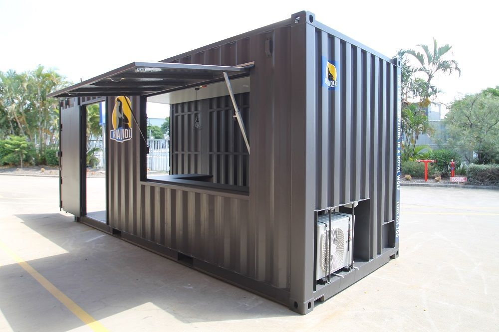 20ft Pop-Up Container Shop